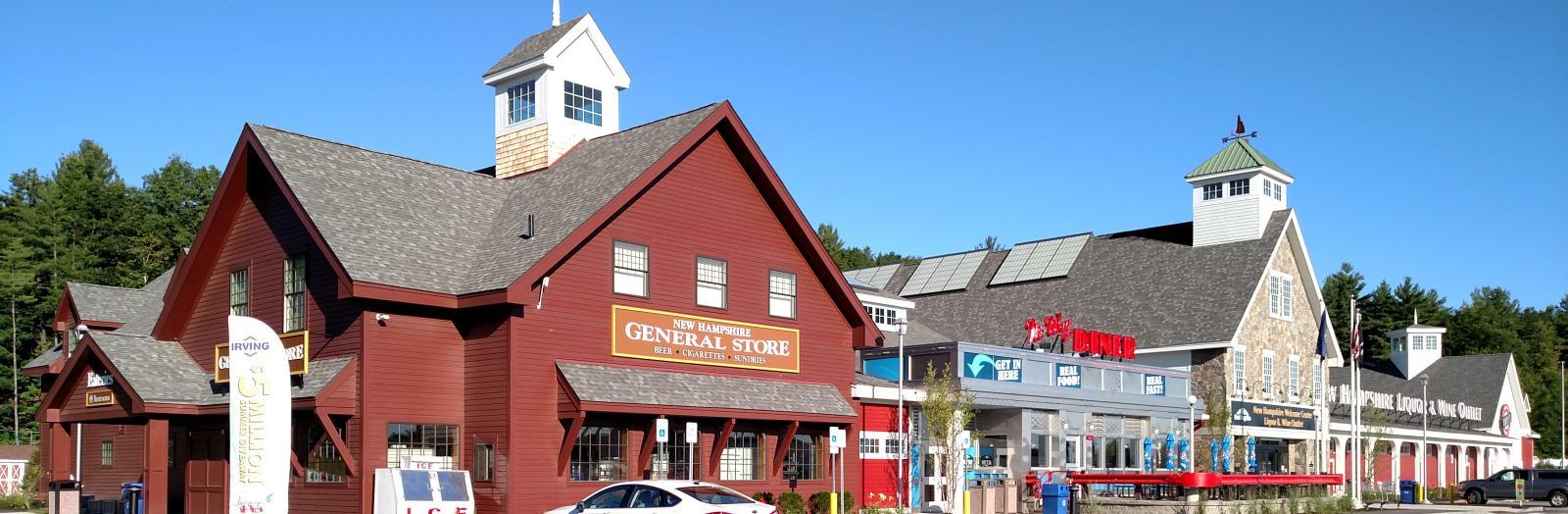 Hooksett Southbound Visitor Center And Liquor Store